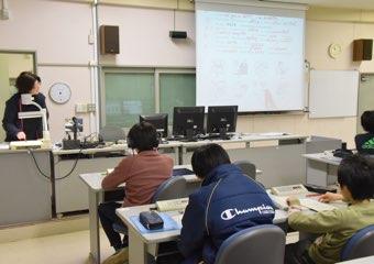 LL教室で聴解力を鍛える