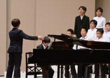 ピアノ演奏は合唱の要